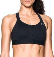 8cab7e9d5d Under Armour Women s Eclipse Zip Front High-Impact Sports Bra