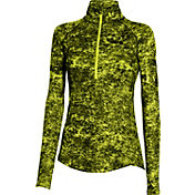 Under Armour Women's Fly Fast Printed Half Zip Long Sleeve Shirt