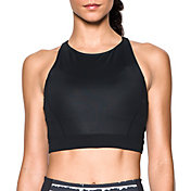 Under Armour Women's Mirror Shine Crop Tank Top