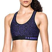 Under Armour Women's Armour Mid Printed Sports Bra