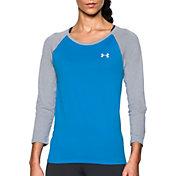 Under Armour Women's Tech Three Quarter Length Sleeve Shirt