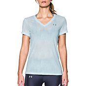 Under Armour Women's Threadborne Train Jacquard Print T-Shirt