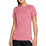 Under Armour Women's Tech Twist Print Crewneck T-Shirt