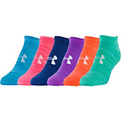 Under Armour Women's Twist No Show Sock - 6 Pack