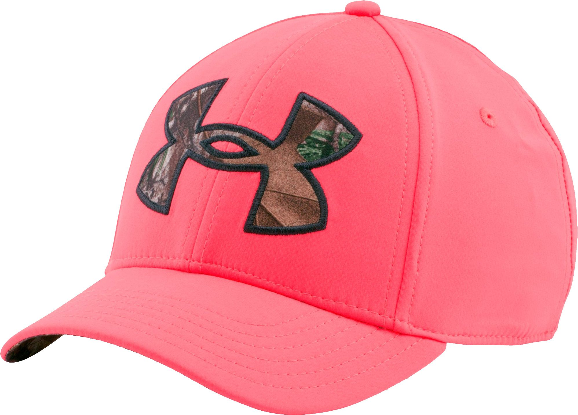 Under Armour Women's Caliber 2.0 Stretch Fit Hat, Size: Medium/Large, Pink thumbnail