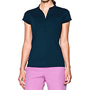 Under Armour Women's Zinger Jacquard Golf Polo