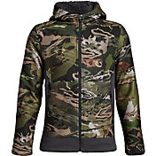 a65a3ffb40440 Product Image · Under Armour Youth Stealth Fleece Hunting Jacket