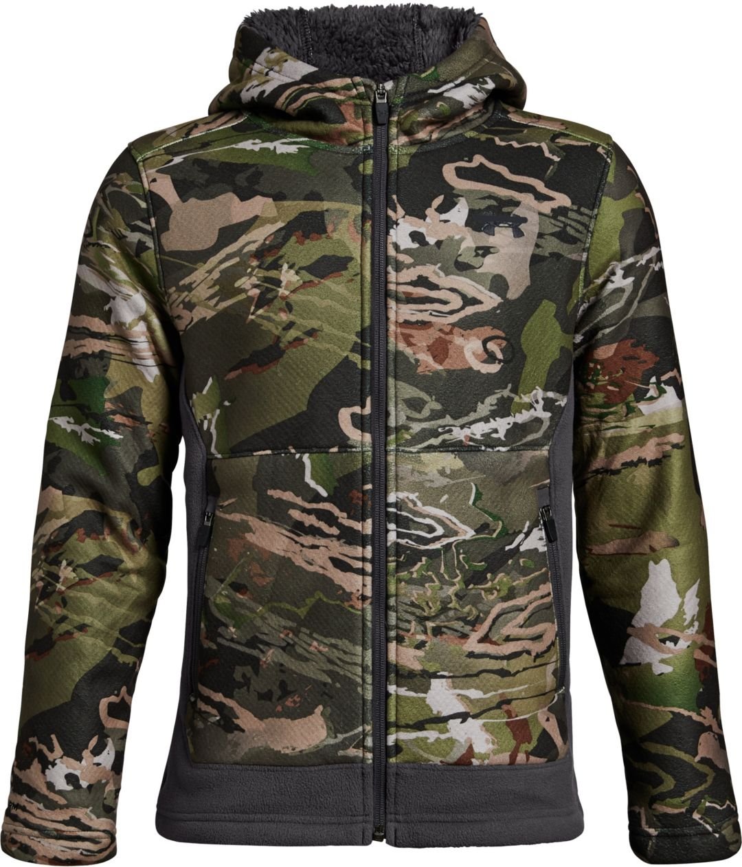 finest selection 9c49c 41a14 Under Armour Youth Stealth Fleece Hunting Jacket 1