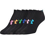 Under Armour Kids' No Show Liner Sock 6 Pack