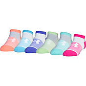 Under Armour Kids' No Show Liner Sock - 6 Pack