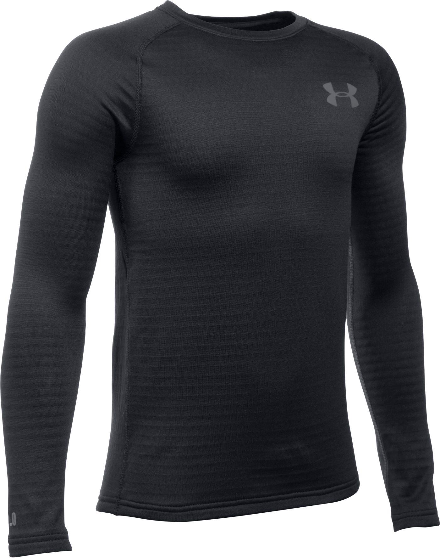 Under Armour Youth Base 2.0 Crew Long Sleeve Shirt