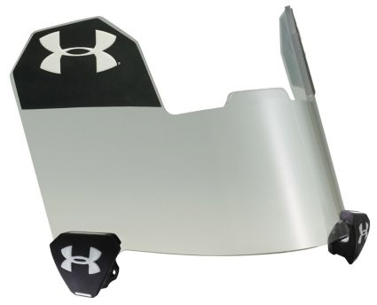 Under Armour Youth Pro Football Visor - Clear. noImageFound 8cdc7412e64