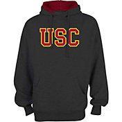 USC Authentic Apparel Men's USC Trojans Grey Manresa Fleece Hoodie