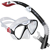 Aqua Lung Sport Magellan P LX Mask and Atlantis LX GoPro Snorkeling Set