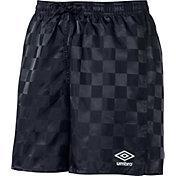 Umbro Youth Rio Check Shorts