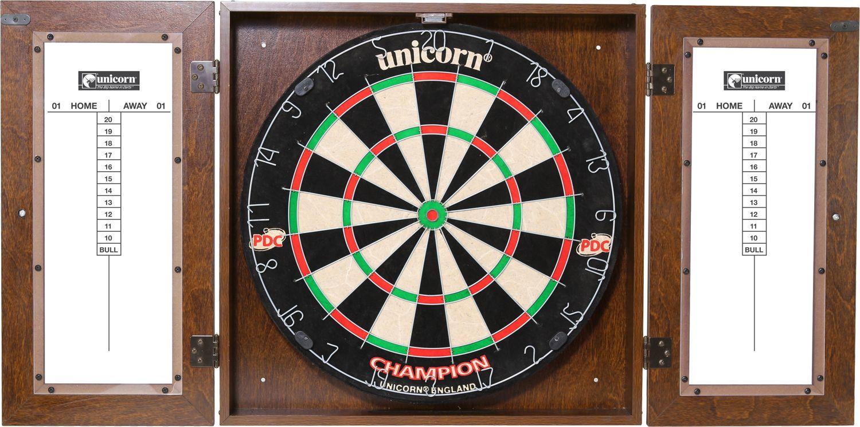 Unicorn Dynasty Bristle Dartboard Cabinet Set Dick S