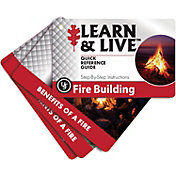 UST Fire Building Learn and Live Cards