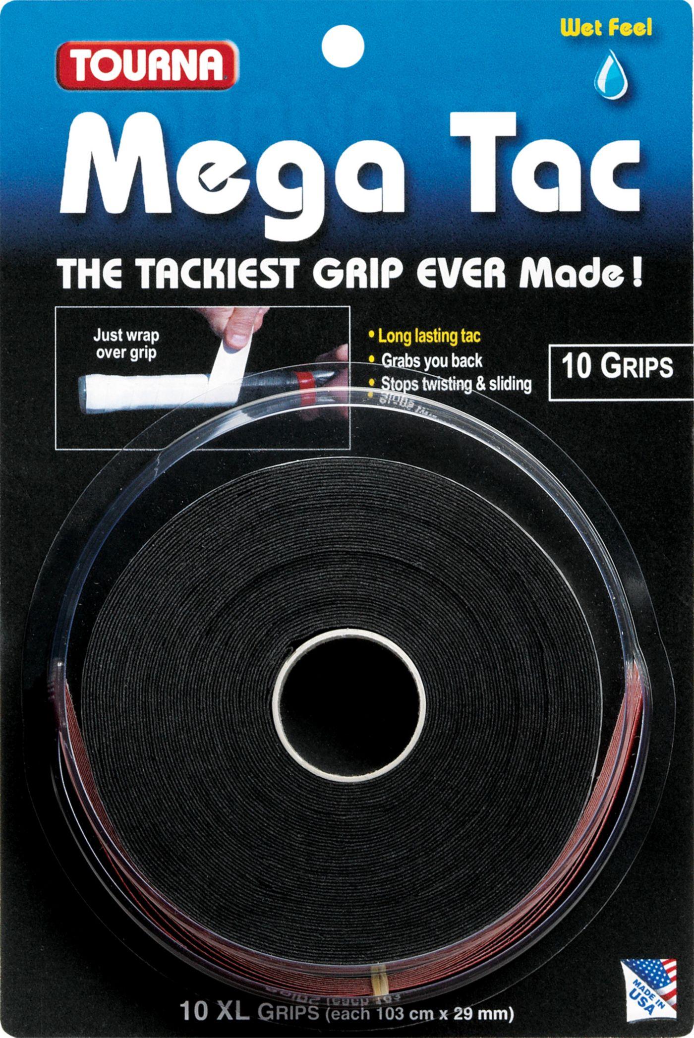 Tourna Mega Tac Overgrip - 10 Pack