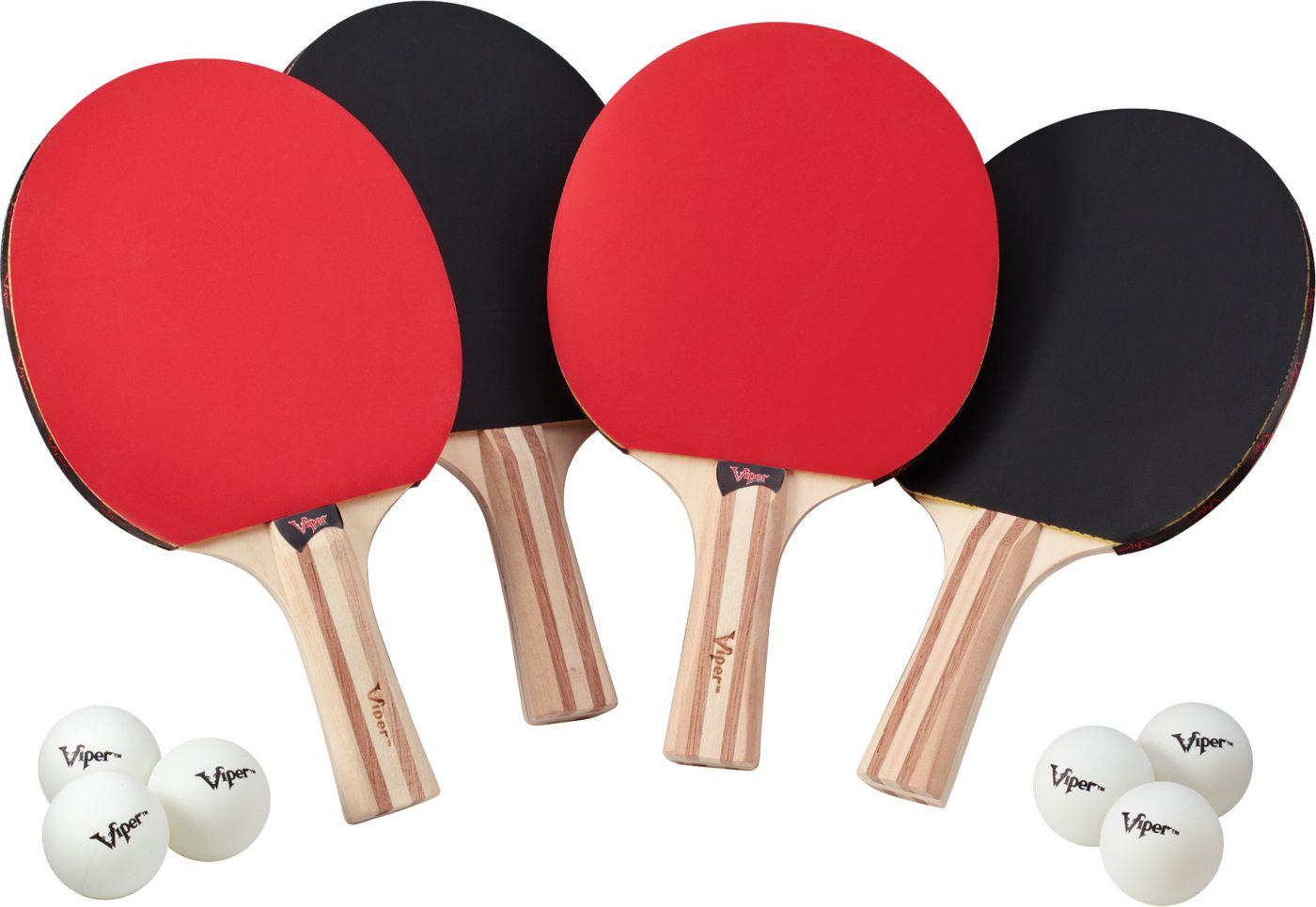 Viper Four Table Tennis Racket Set