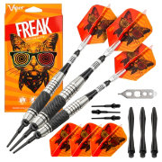 Viper Freak 18g Knurled and Grooved Barrel Soft Tip Darts