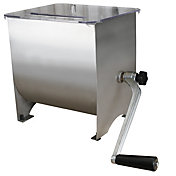 Weston 20 lb Pro Series Stainless Steel Manual Meat Mixer