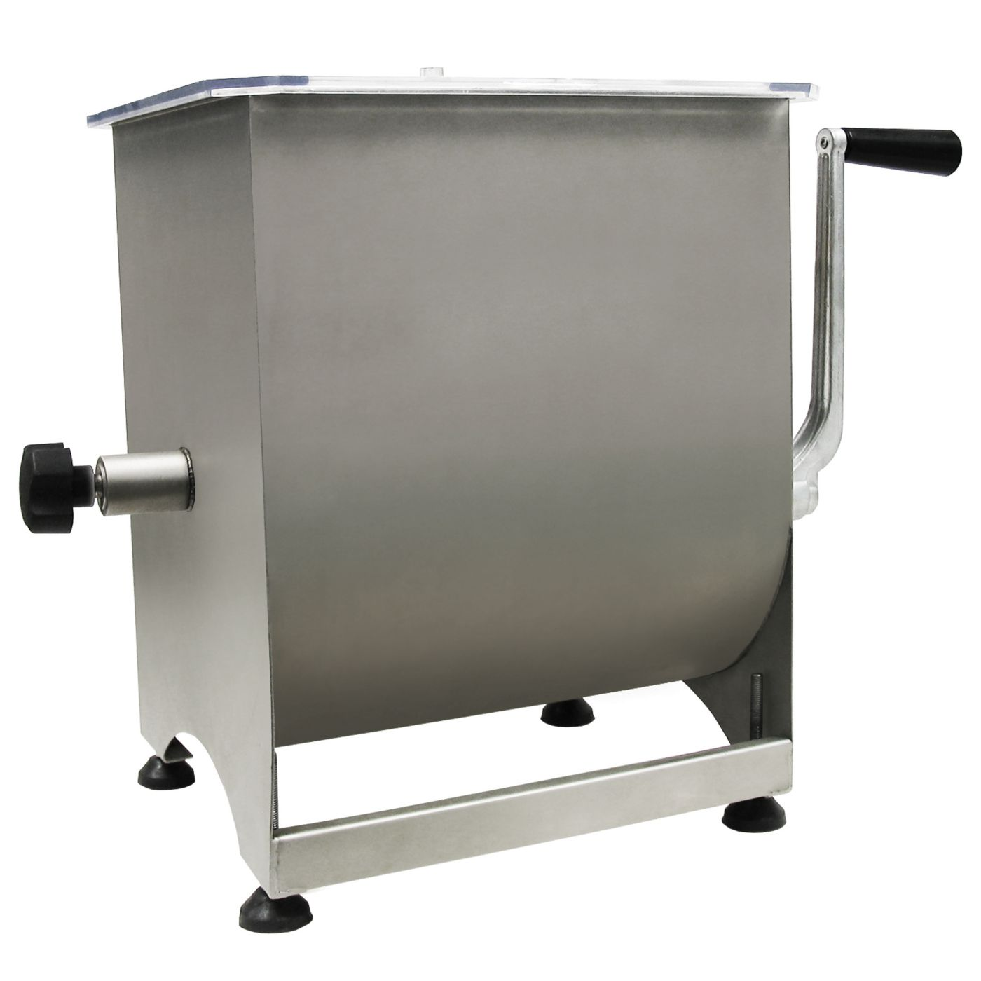 Weston 44 lb Pro Series Stainless Steel Manual Meat Mixer