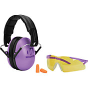 Walker's Game Ear Women's Shooting Earmuffs and Glasses Combo