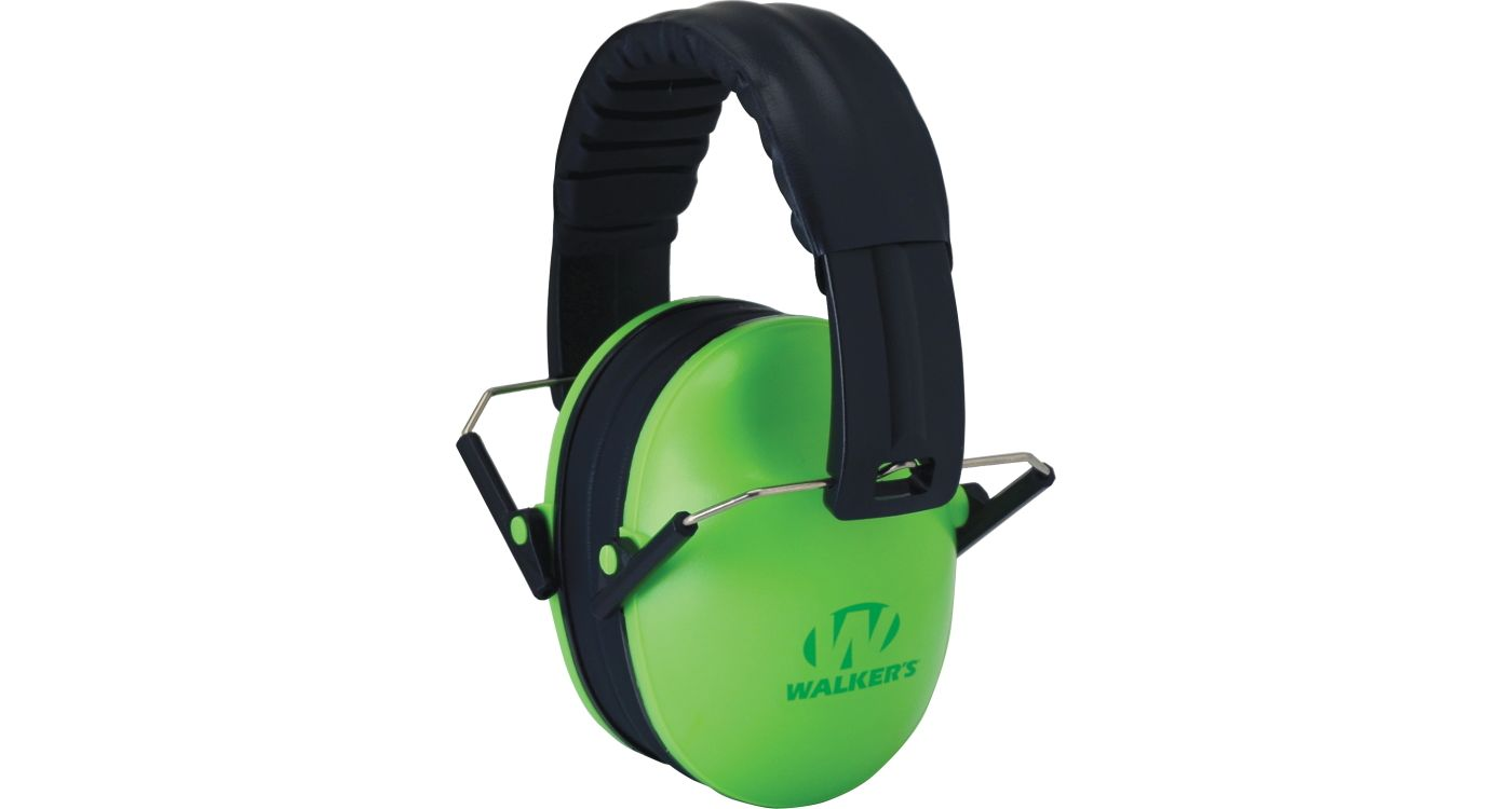 Walker's Game Ear Youth and Baby Protective Folding Earmuffs