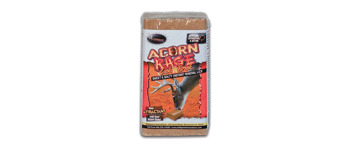 Wildgame Innovations Acorn Rage Lick-N-Brick Salt Block