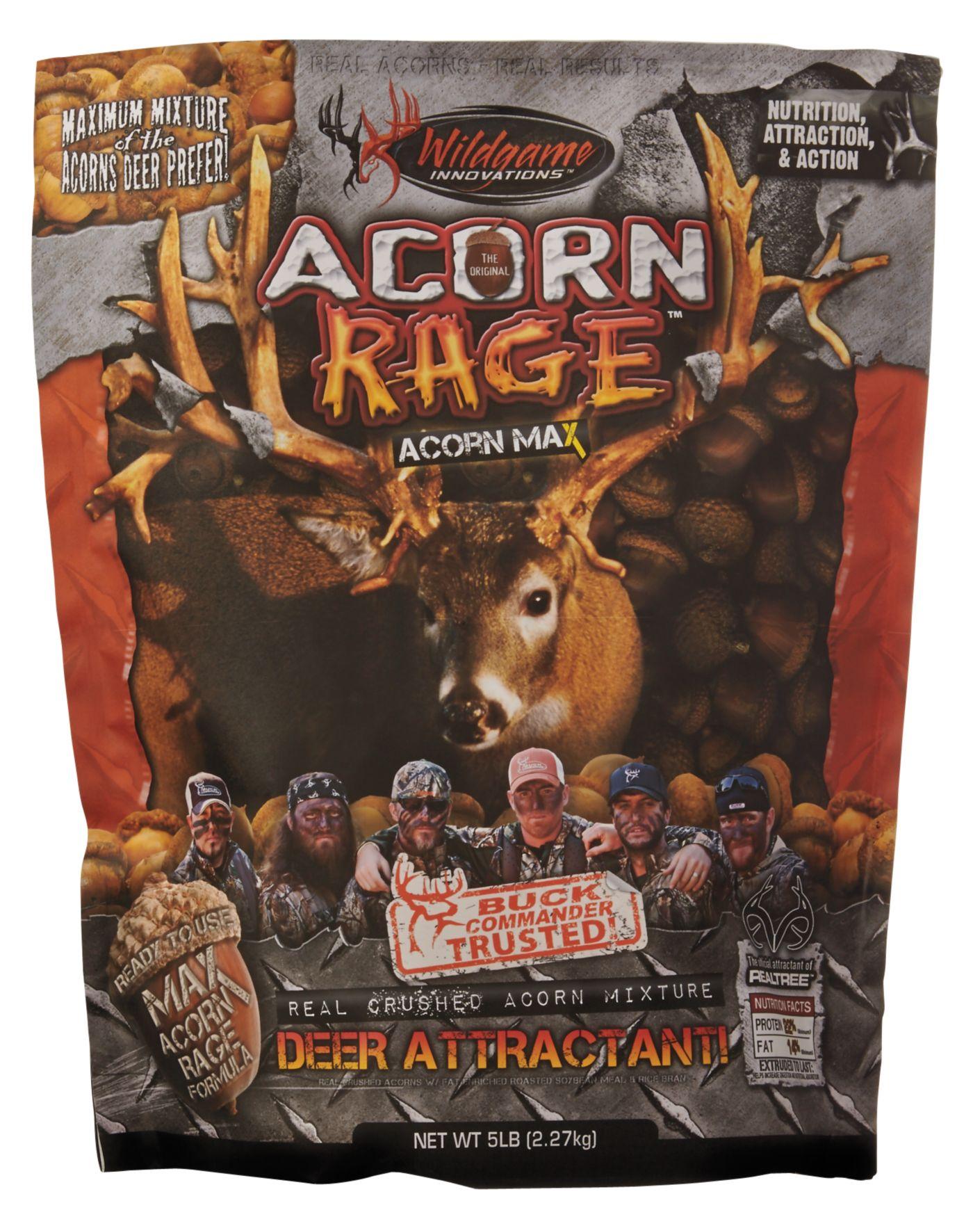 Wildgame Innovations Buck Commander Acorn Rage Attractant – 5 lbs