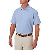 Walter Hagen Men's Lightweight Stretch Woven Golf Polo