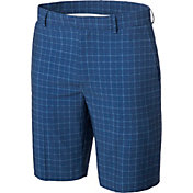 Walter Hagen Men's Windowpane Golf Shorts
