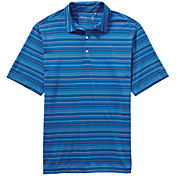 Walter Hagen Men's Port Fine Line Multi Stripe Golf Polo