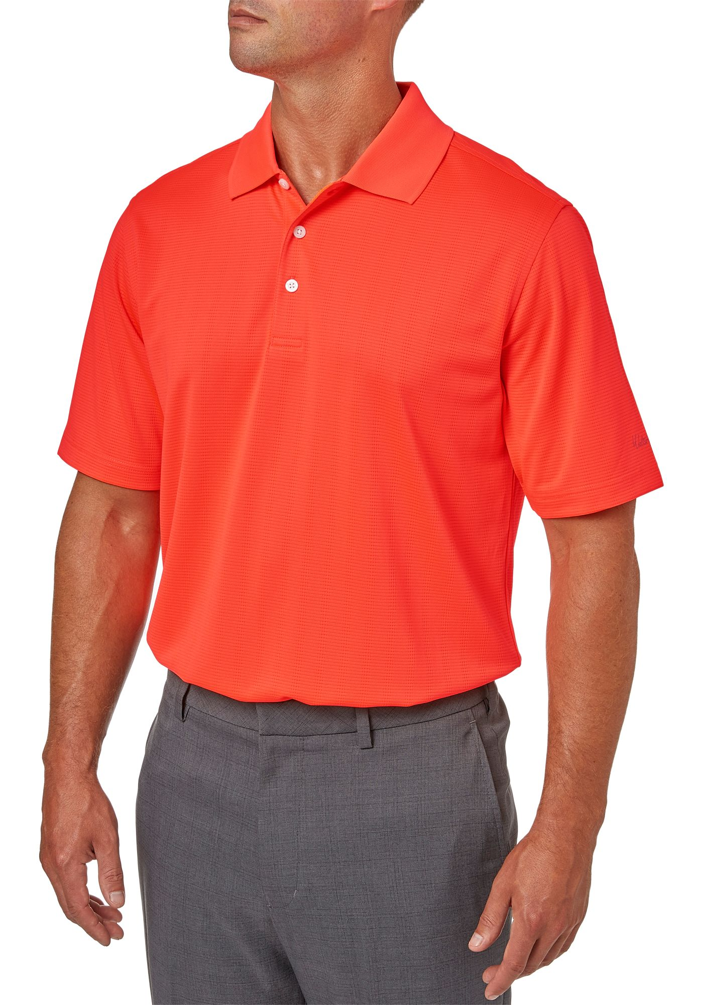 Walter Hagen Essentials Textured Solid Polo