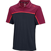 Wilson Men's Color Block Tennis Polo