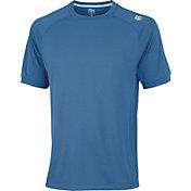 Wilson Men's Novelty Knit Tennis Shirt