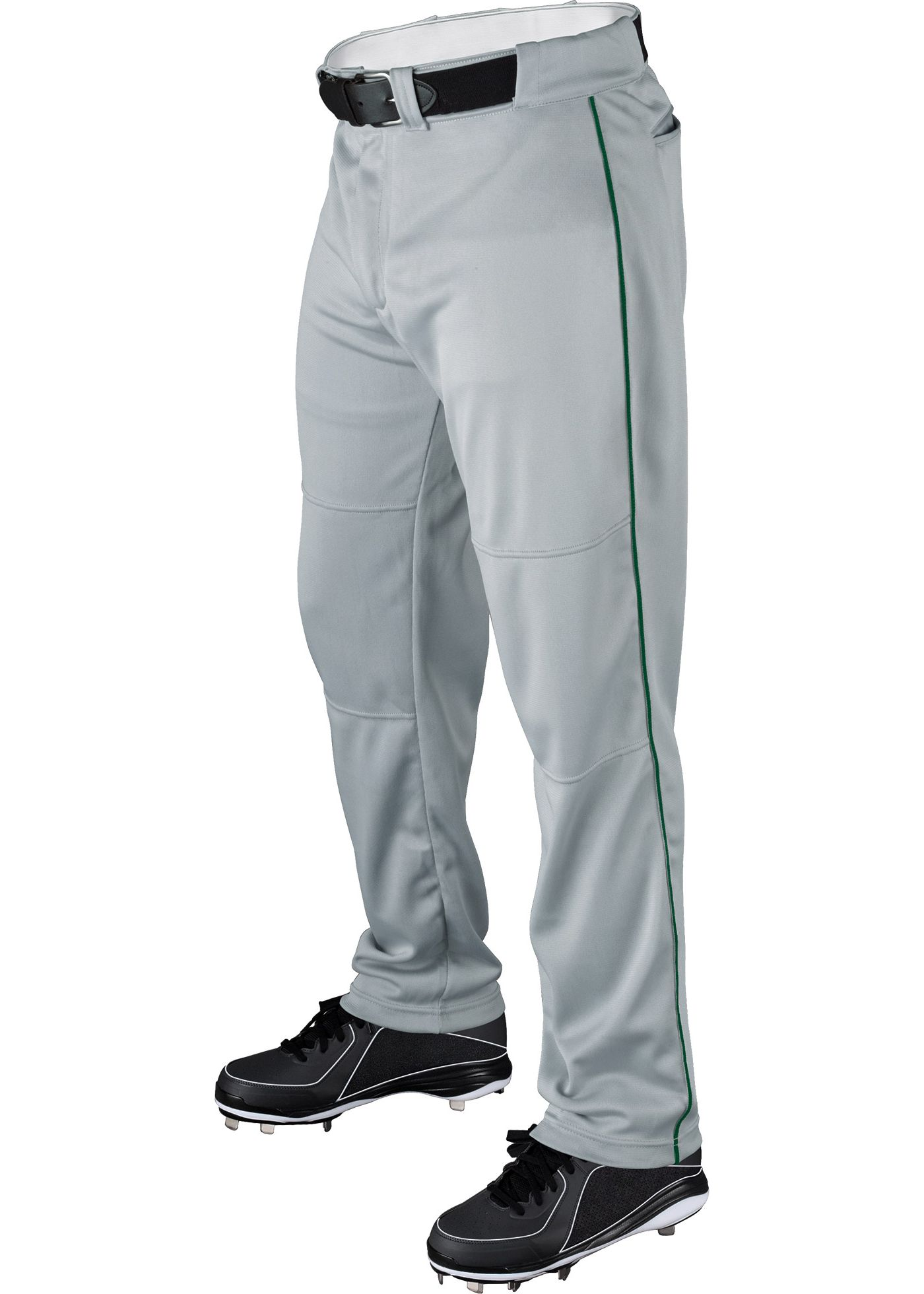 Wilson Men's Relaxed Fit Poly Warp Knit Piped Baseball Pants