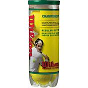 Wilson Championship Tennis Balls - 3 Ball Pack