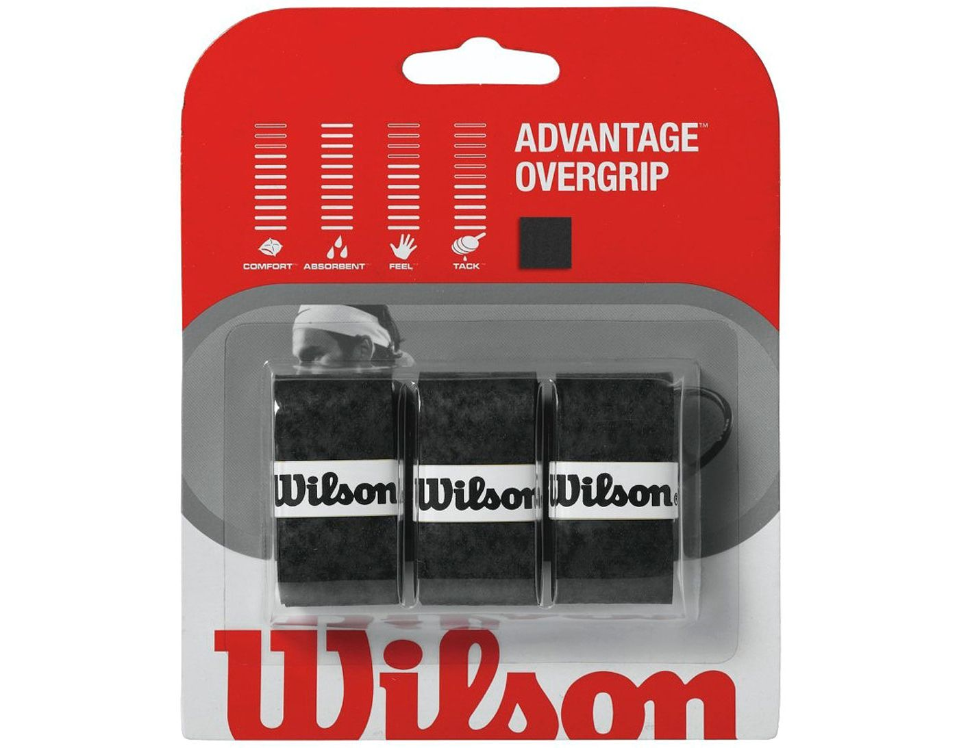 Wilson Advantage Overgrips - 3 Pack