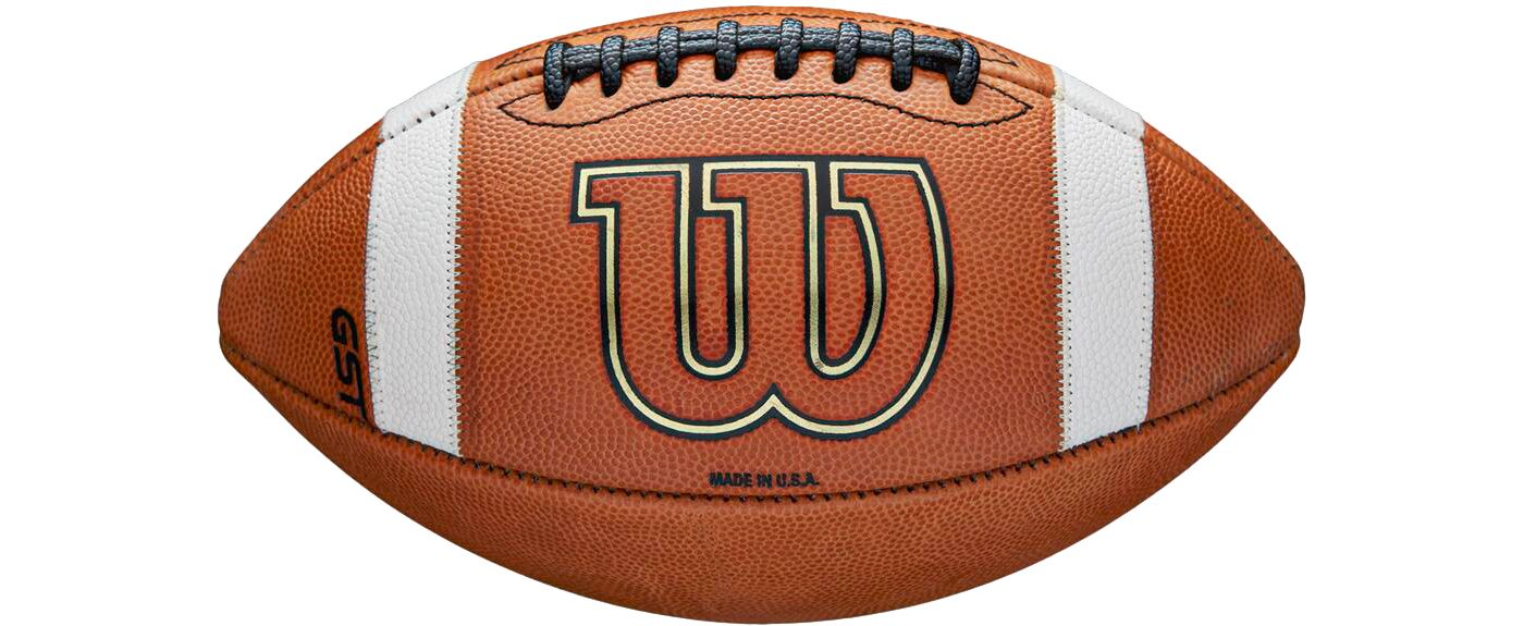 Wilson GST Leather Football