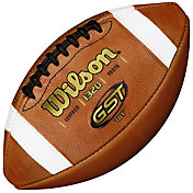 Wilson GST Leather Youth Football