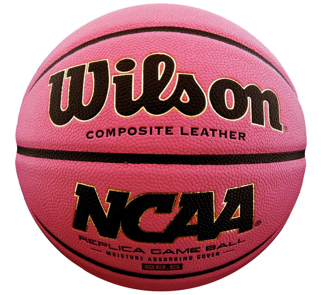 9683ce46cb1 Wilson NCAA Replica Pink Basketball (28.5