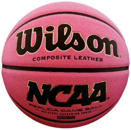 "Wilson NCAA Replica Pink Basketball (28.5"")"