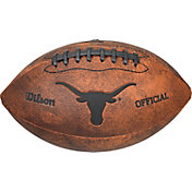 Wilson Texas Longhorns Throwback Mini Football