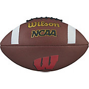 Wilson Wisconsin Badgers Composite Official-Size Football