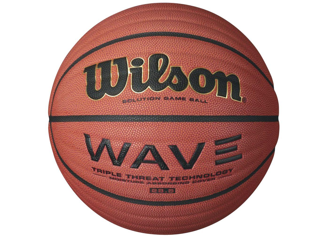 "Wilson Wave Solution Game Basketball (28.5"")"