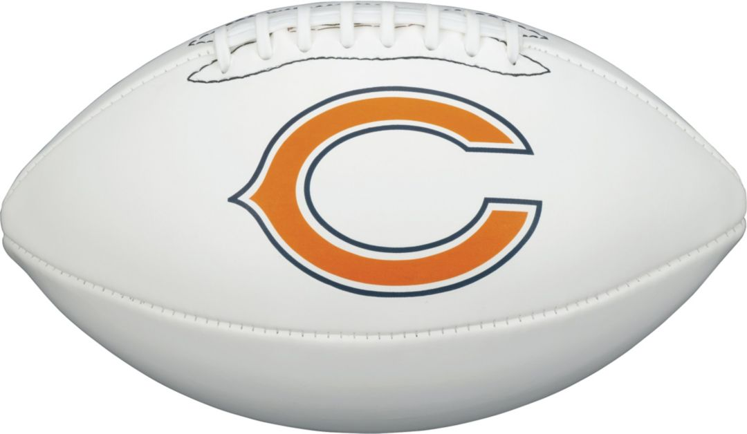 newest b925a 61dcc Wilson Chicago Bears Autograph Official-Size Football