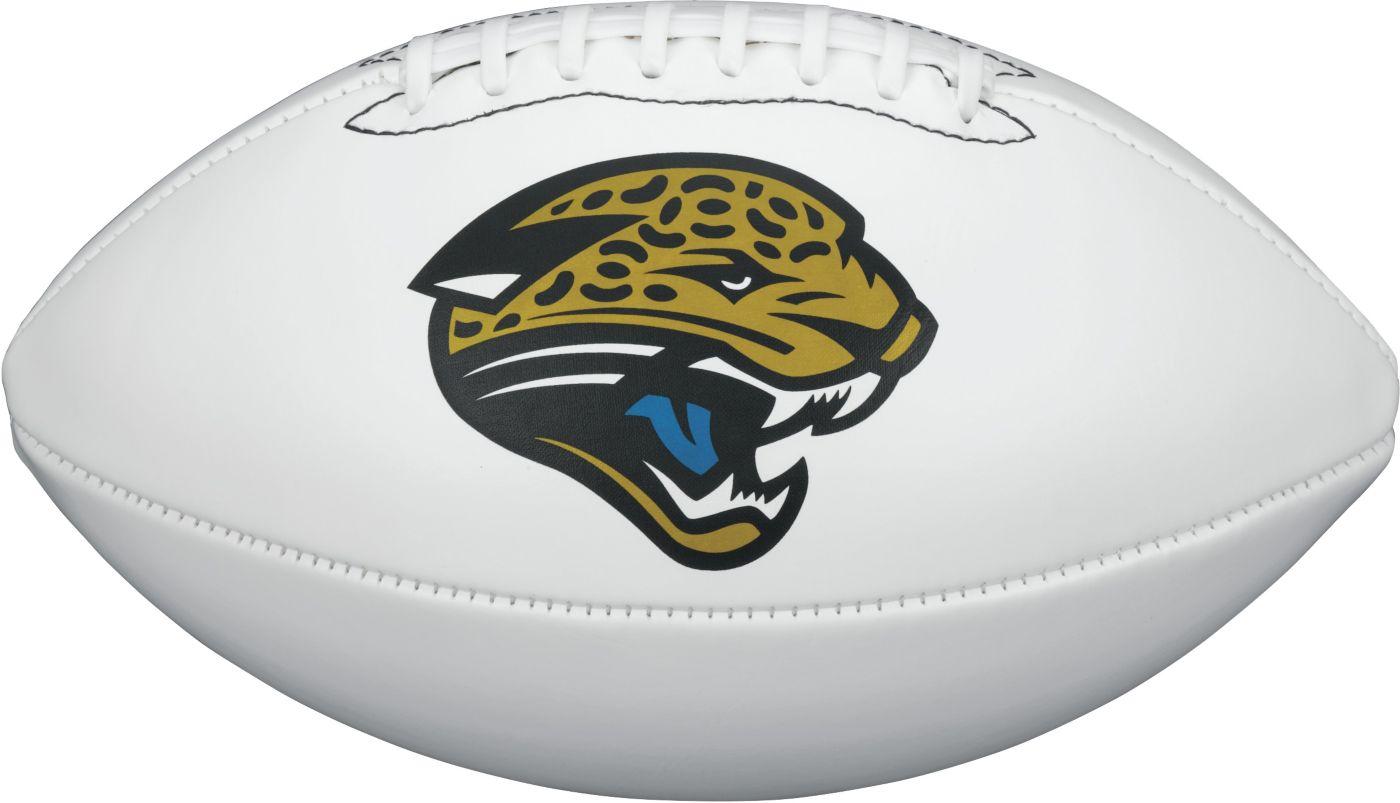 Wilson Jacksonville Jaguars Autograph Official-Size Football