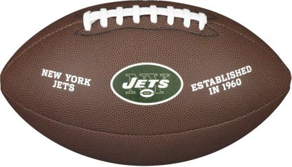 Wilson New York Jets Composite Official Size Football | DICK'S