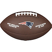 Wilson New England Patriots Composite Official-Size Football